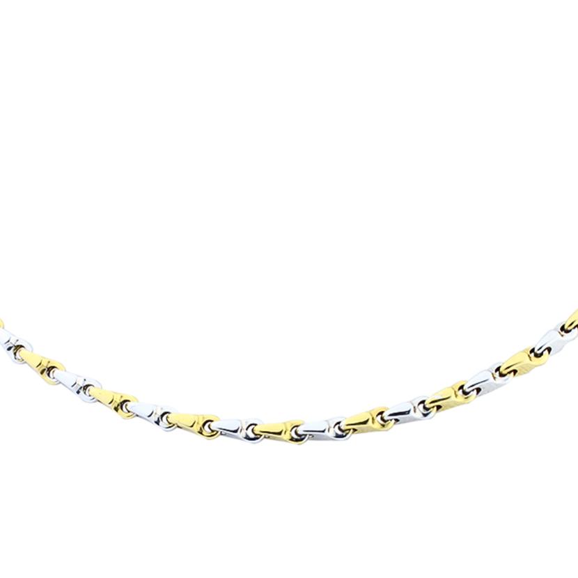 Img colar masculino ouro amarelo ouro branco