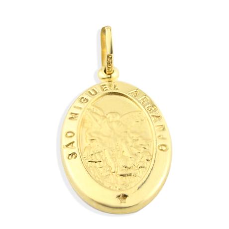 Mini medalha sao miguel arcanjo