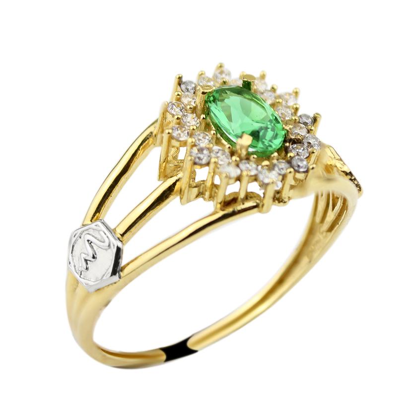 Img anel esmeralda oval