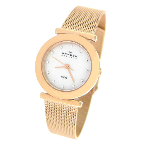 Mini skagen aco rose swarovski
